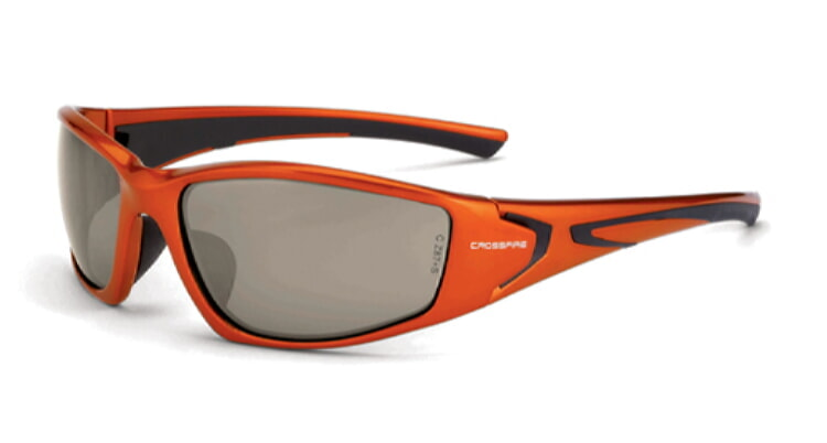 Crossfire RPG HD demi-copper flash Mirror Lens, burnt Orange Frame