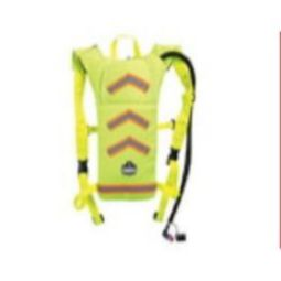 Ergodyne Chill-Its 5155HV Hi-Visibility Low Profile Hydration Pack 2 Liter Lime