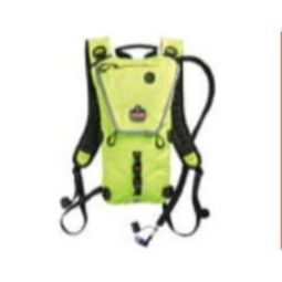 Ergodyne Chill-Its 5156 Low Profile Hydration Pack 2 Liter HiVisibility Lime