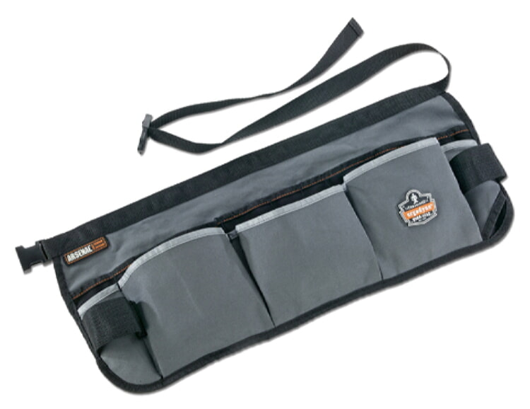 Ergodyne Arsenal 5706 13-Pocket Waist Apron (Gray)