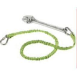 Ergodyne Squids 3111EXT Extended Stainless Dual Carabiner-15 lbs (Lime)
