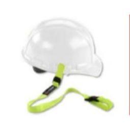 Ergodyne Squids 3150 Buckle Hard Hat Lanyard (Lime)