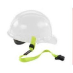 Ergodyne Squids 3155 Clamp Hard Hat Lanyard (Lime)