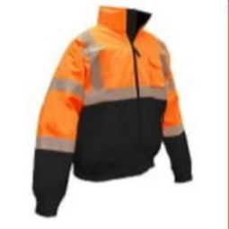 Radians SJ110B-3ZOS  2-IN-1 Orange Bomber Jacket Class 3