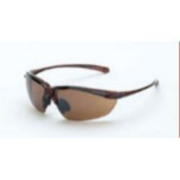 Crossfire Sniper HD brown flash mirror lens, crystal brown frame