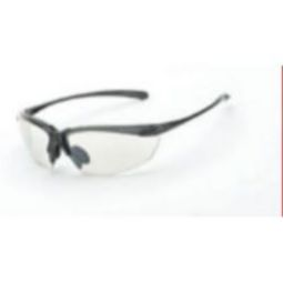 Crossfire Sniper indoor/outdoor lens, shiny pearl gray frame