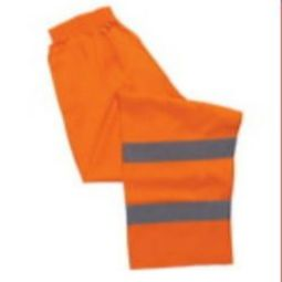 ERB S21 Class E Polyester Knit Safety Pants - Hi Viz Orange