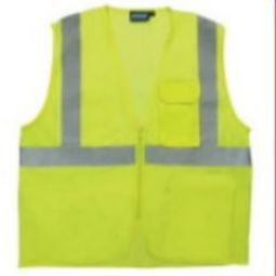 ERB S169 Class 2 Mesh Surveyor''s Vest - Hi Viz Lime