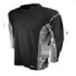 DEWALT DST21 Two Tone Long Sleeve Non-Rated T-Shirt - Black