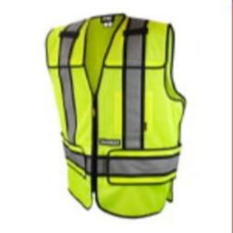 DeWALT® DSV421 Class 2 Adjustable Breakaway Mesh Safety Vest