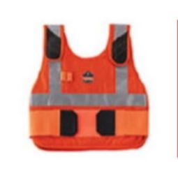 Ergodyne Chill-Its 6225HV Phase Change Premium Cooling Vest - Hi-Viz Orange