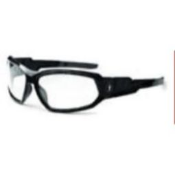 Ergodyne 56000 Skullerz Loki Safety Glasses -  Goggles -Black/Clear
