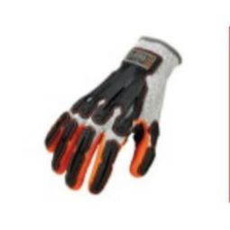 Ergodyne PROFLEX 922CR Level 5 Cut Resistant Nitrile-Dipped DIR Gloves Gray