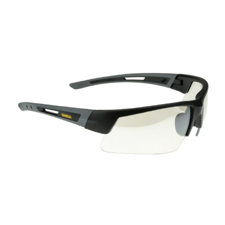 DeWALT® DPG100-9D Crosscut Safety Glasses - Black Frame, I/O Lens