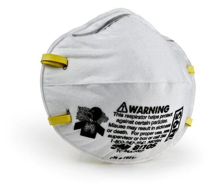 3M 8110S Particulate Respirator, N95 - 20 Pack