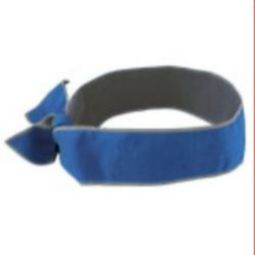 Ergodyne Chill-Its 6700MF Evaporative Cooling Tie Bandana - Blue