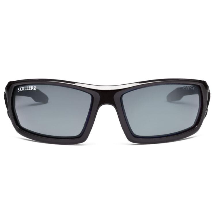 c7c1ccf7fed Ergodyne Skullerz ODIN Safety Glasses - Black Frame - Smoke Anti-Fog Lens  w  Fog-Off