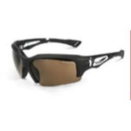 Crossfire 25226 ALPINE Brown Polarized Lens and Matte Black Frame