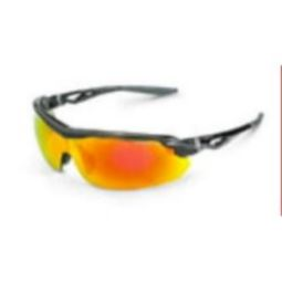 Crossfire 3968 CIRRUS Red Mirror Lens and Shiny Black Frame
