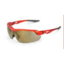 Crossfire 39812 CIRRUS Gold Mirror Lens and Burnt Orange Frame