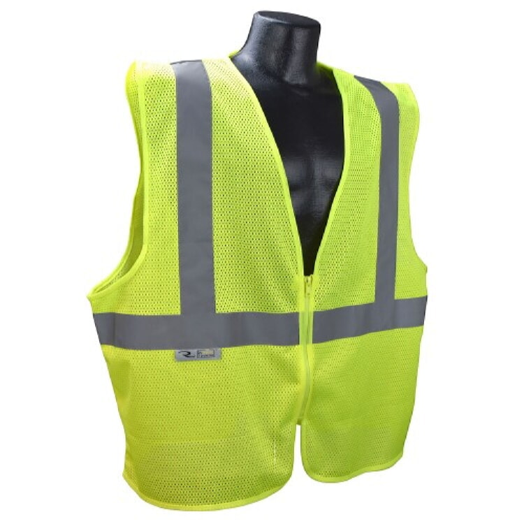 Radians SVE1-2ZGM Economy Class 2 Safety Vest -Green