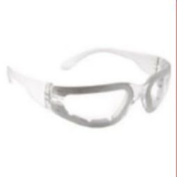 Radians Mirage Foam Safety Eyewear MRF111ID Clear Anti-Fog