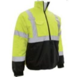 ERB W105 ANSI Class 3 Value Bomber Jacket - Lime