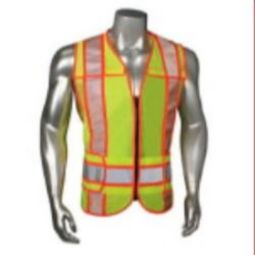 Radians LHV-6ANSI-ZRCTARV Class 2 Breakaway Safety Vest - Lime