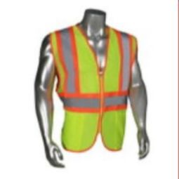 Radians LHV-5ANSI-CT Class 2 Poly Mesh Safety Vest - Green