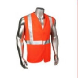Radians HV-UTIL FR Utilisafe Class 2 Standard Safety Vest - Orange