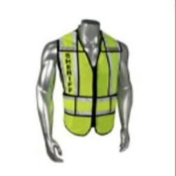 Radians LHV-207-SPT-SHF Sheriff - Class 2 Black Trim Safety Vest - Green