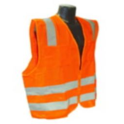 Radians SV8OM Standard Class 2 Safety Vest Orange Mesh