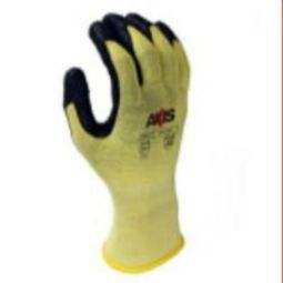 Radians RWG537 Cut Level A2 - 13 Ga Kevlar Lycra Shell w/Black Foam Nitrile Palm Coating