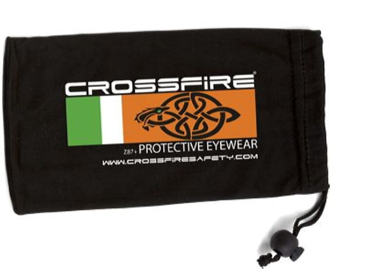 Crossfire Black Micro-Fiber Bag