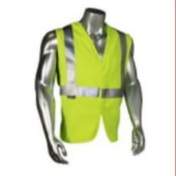 Radians SV92AS Anti-Static Modacrylic FR Class 2 Vest Hi Viz Green Solid