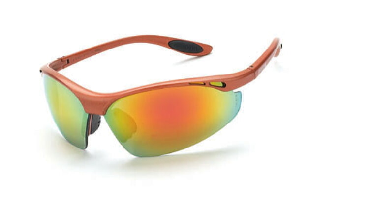 Crossfire 119 Talon Red Mirror Lens, Copper Frame