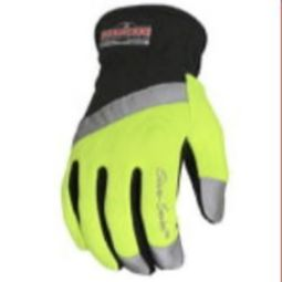 Radians RWG100 Radwear Silver Series All Purpose Synthetic Hi-Viz Utility Glove Pair