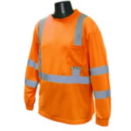 Radians ST21-3POS Class 3 Long Sleeve Shirt -Orange