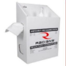 Radians Lens Cleaning LCS161200 Large Cleaning Station 16oz. Solution/1200 Tissues