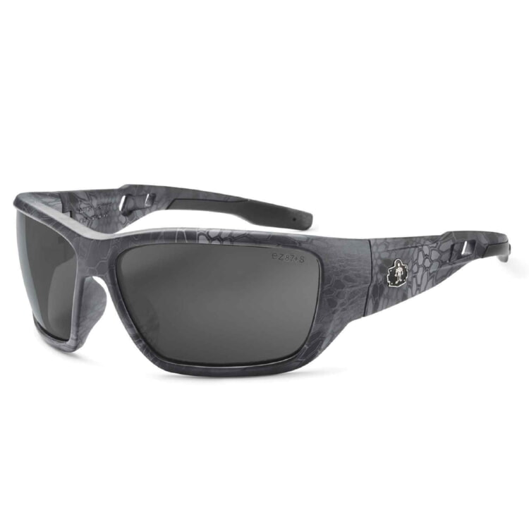 Ergodyne 57533 BALDR Skullerz® Baldr Safety Glasses - Anti-Fog Smoke Lens