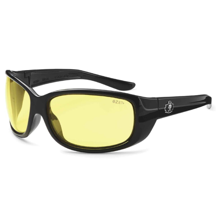 Ergodyne 58050 ERDA Skullerz® Erda Safety Glasses - Yellow Lens