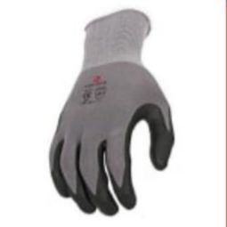 Radians RWG11 15 Gauge Microdot Foam Nitrile Gripper Gloves