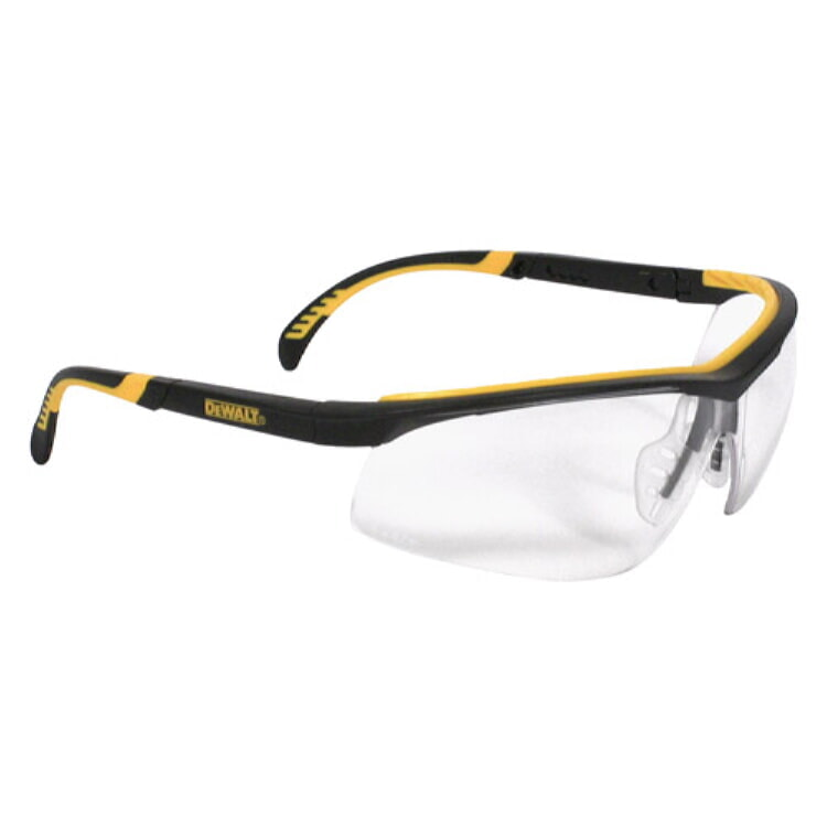 DeWALT® DPG55-11 DC Safety Glasses - Black Frame, Clear Anti-Fog lens