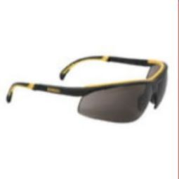 DEWALT DPG55-2D DC Safety Glasses - Black Frame, Smoke Lens