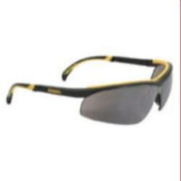 DEWALT DPG55-6D DC Safety Glasses - Black Frame, Silver Mirror Lens