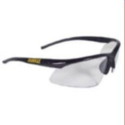 DeWalt DPG51-1D Radius Safety Glasses - Black Frame, Clear Lens