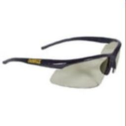 DeWalt DPG51-9 Radius Safety Glasses Black Frame, I/O Lens