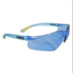 DEWALT DPG52-BD Contractor Pro Safety Glasses - Light Blue Lenses