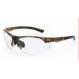 Crossfire AR3 Clear Lens, Woodland Brown Camouflage Frame