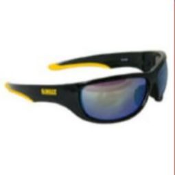 DeWalt DPG94-YD Dominator Safety Glass - Yellow Mirror Lenses